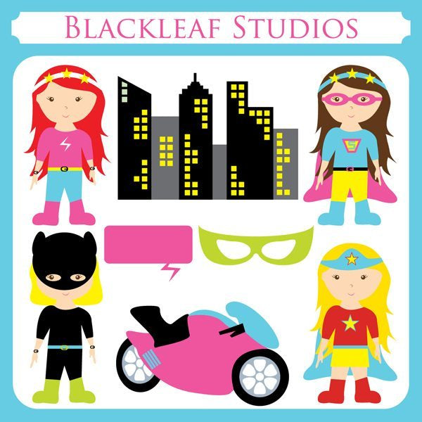 Super Girls  Blackleaf Design    Mygrafico