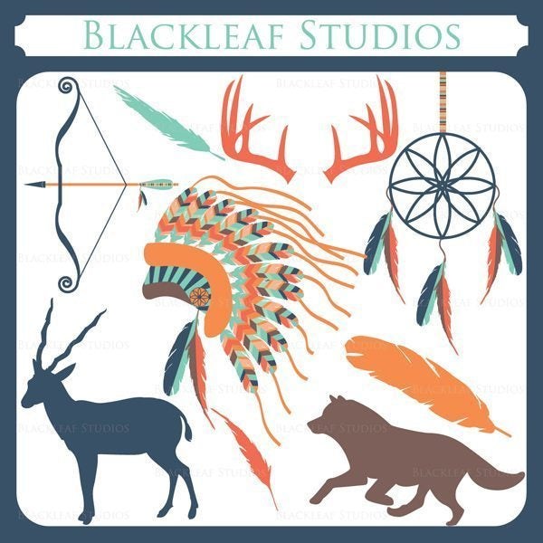 Tribal  Blackleaf Design    Mygrafico