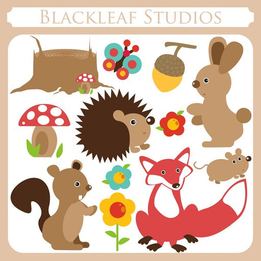 Woodland  Blackleaf Design    Mygrafico