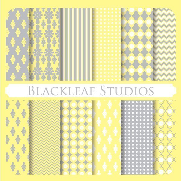 Mustard Grays  Blackleaf Design    Mygrafico
