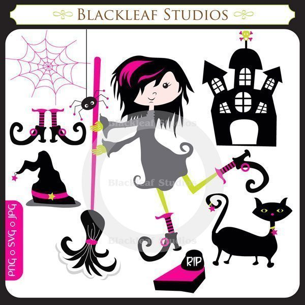 Trick Or Treat Halloween SVG Cuting Files 1  Blackleaf Design    Mygrafico
