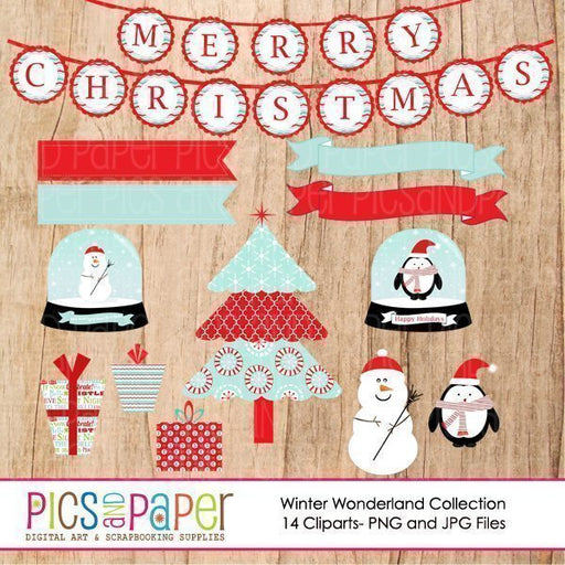 Winter Wonderland Cliparts  Pics and Paper    Mygrafico