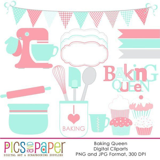 The Baking Queen Cliparts Pics and Paper    Mygrafico