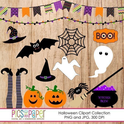 Halloween Clipart Collection  Pics and Paper    Mygrafico
