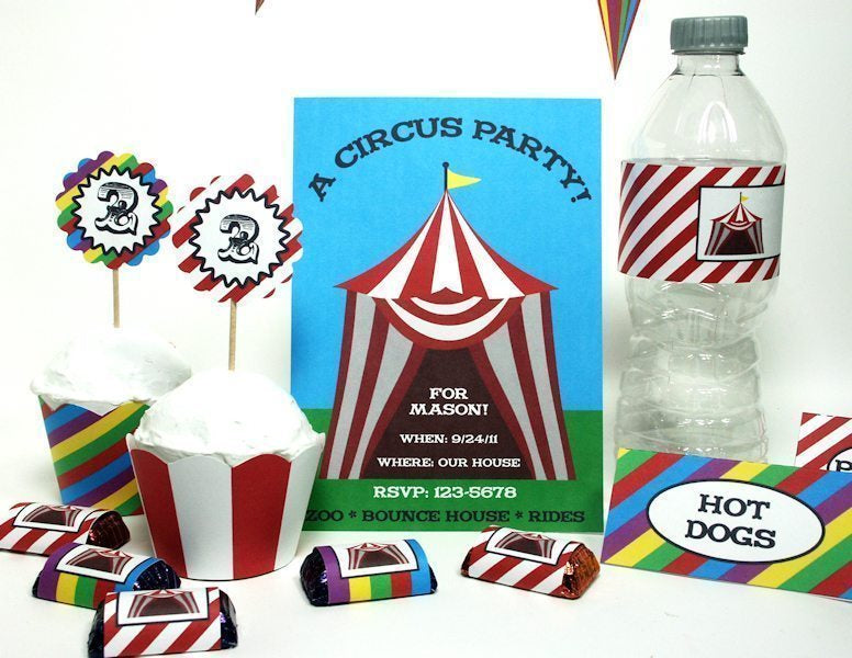Rainbow Circus Party!  Lindsay's Stamp Stuff    Mygrafico