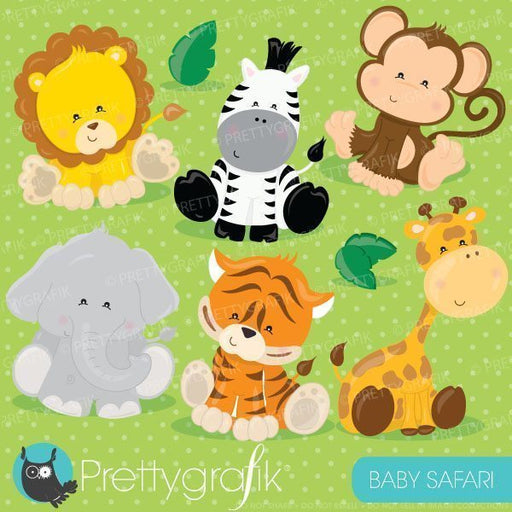 Baby safari animals clipart  Prettygrafik    Mygrafico