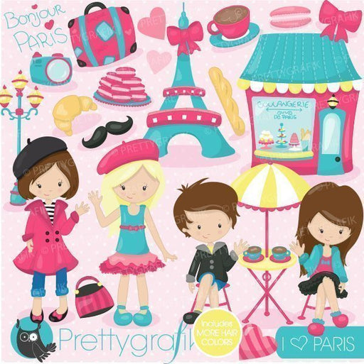 Paris vacation clipart  Prettygrafik    Mygrafico