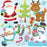 Christmas friends clipart  Prettygrafik    Mygrafico