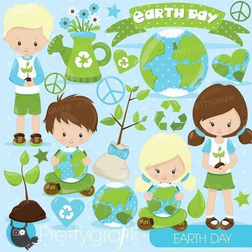 Earth day kids clipart  Prettygrafik    Mygrafico