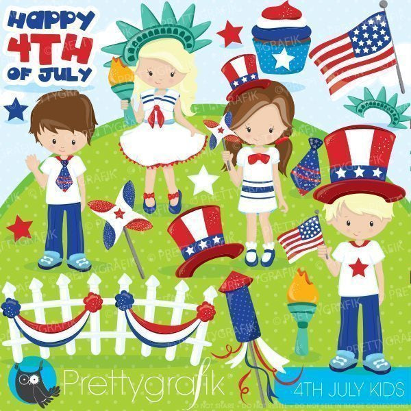 Independence day kids Clipart  Prettygrafik    Mygrafico
