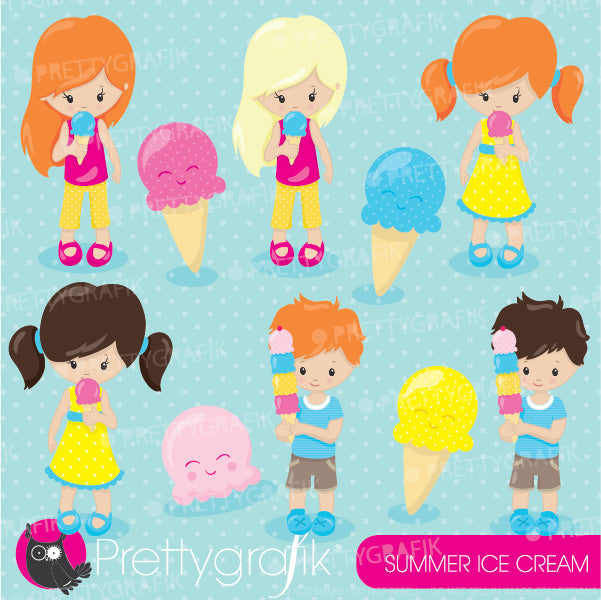 Ice cream Kids clipart  Prettygrafik    Mygrafico