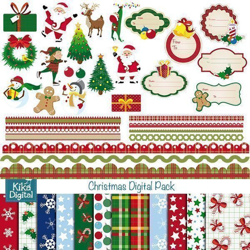 Christmas Graphic Bundle  Kika Digital    Mygrafico