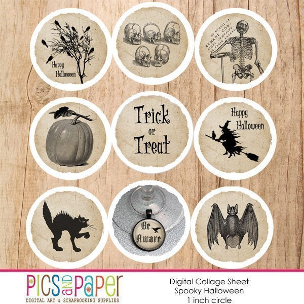 Spooky Halloween Printable Templates Pics and Paper    Mygrafico