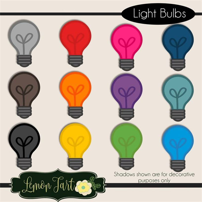 Light Bulb Digital clipart Cliparts Lemon Tart    Mygrafico