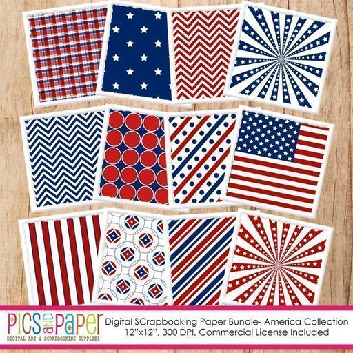 America Paper Digital Papers & Backgrounds Pics and Paper    Mygrafico