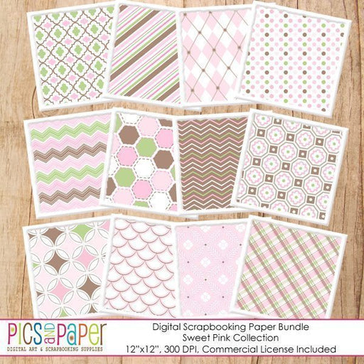 Sweet Pink Papers Digital Papers & Backgrounds Pics and Paper    Mygrafico