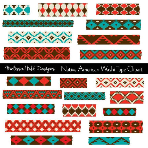 Native American Washi Tape Clipart Cliparts Melissa Held Designs    Mygrafico