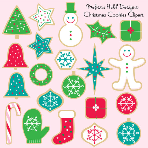 Christmas Cookies Clipart Cliparts Melissa Held Designs    Mygrafico