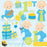 First birthday boy clipart  Prettygrafik    Mygrafico