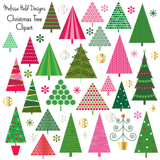 Christmas tree Clipart Cliparts Melissa Held Designs    Mygrafico