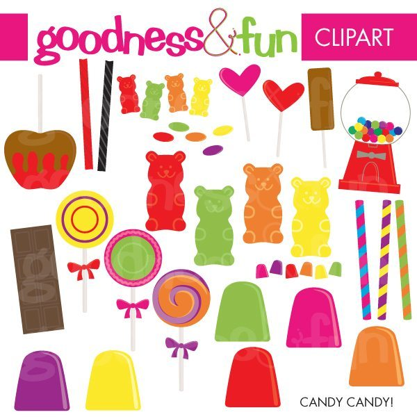 Candy Candy!  Goodness & Fun    Mygrafico