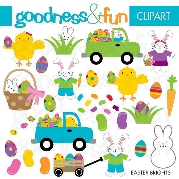 Easter Brights  Goodness & Fun    Mygrafico