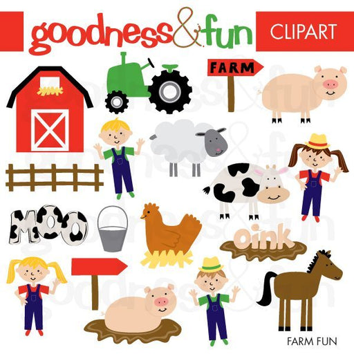 Farm Fun  Goodness & Fun    Mygrafico