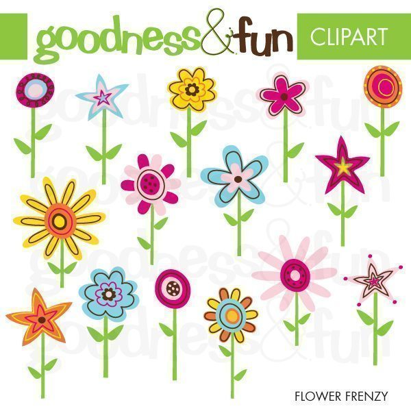 Flower Frenzy  Goodness & Fun    Mygrafico