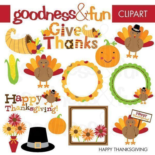 Happy Thanksgiving  Goodness & Fun    Mygrafico