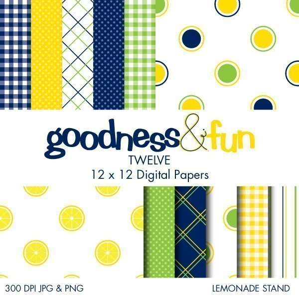 Lemonade Stand Papers  Goodness & Fun    Mygrafico