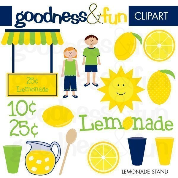Lemonade Stand  Goodness & Fun    Mygrafico