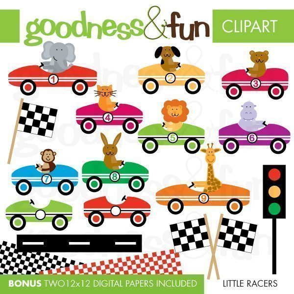 Little Racers  Goodness & Fun    Mygrafico