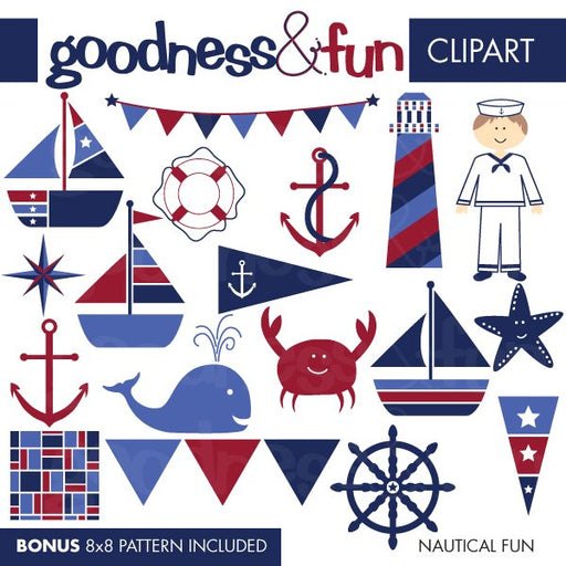 Nautical Fun  Goodness & Fun    Mygrafico