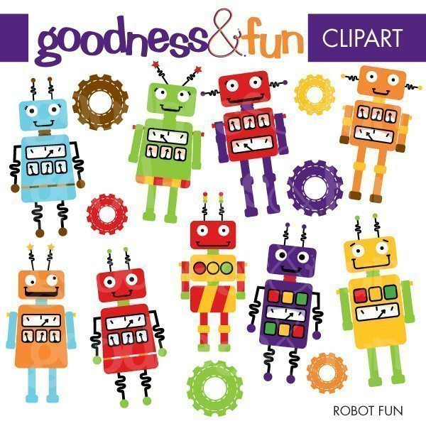 Robot Fun  Goodness & Fun    Mygrafico
