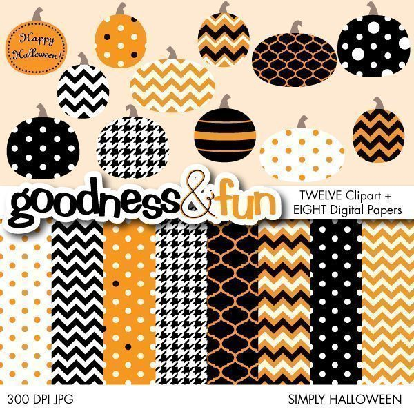 Simply Halloween  Goodness & Fun    Mygrafico