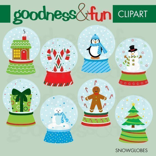 Snowglobes  Goodness & Fun    Mygrafico