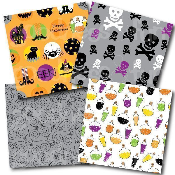 Spooktacular Papers  Goodness & Fun    Mygrafico