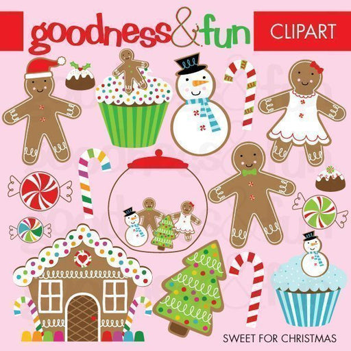 Sweet for Christmas Clipart  Goodness & Fun    Mygrafico