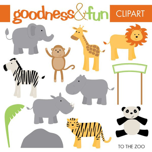 To The Zoo  Goodness & Fun    Mygrafico
