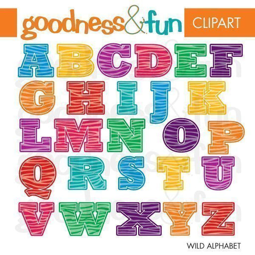 Wild Alphabet  Goodness & Fun    Mygrafico