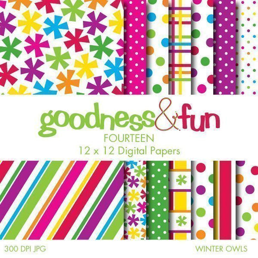 Winter Owls Papers  Goodness & Fun    Mygrafico