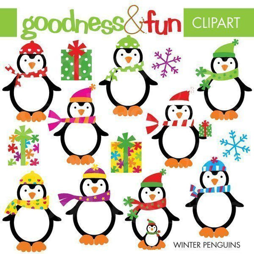 Winter Penguins  Goodness & Fun    Mygrafico