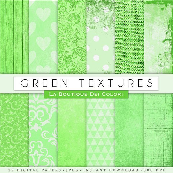 Green Texture Papers  La Boutique Dei Colori    Mygrafico