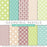 Green and pink Pastels Digitall Paper Pack  La Boutique Dei Colori    Mygrafico