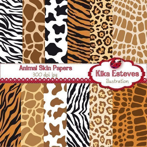 Animal Skin Papers  Kika Digital    Mygrafico