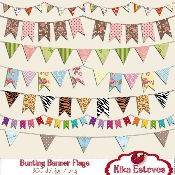 Bunting Banner Flags  Kika Digital    Mygrafico