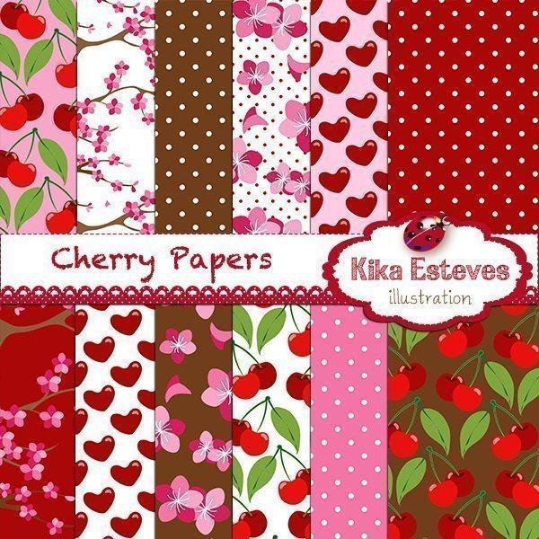 Cherry Papers  Kika Digital    Mygrafico