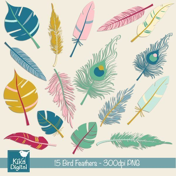 Bird Feathers  Kika Digital    Mygrafico