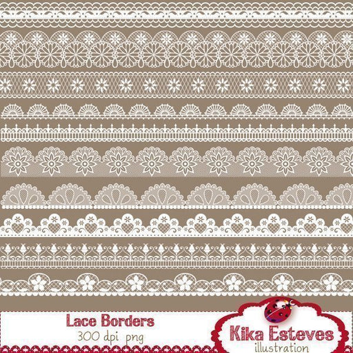 Lace Borders  Kika Digital    Mygrafico
