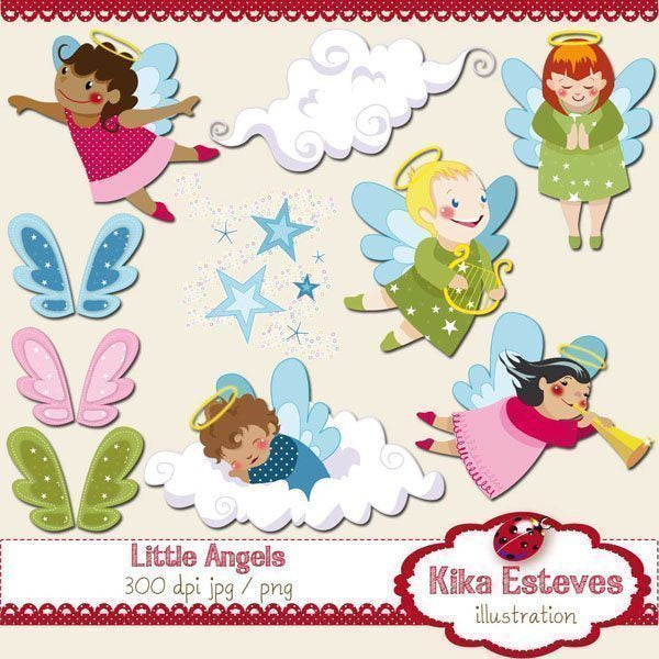 Cute Angels  Kika Digital    Mygrafico